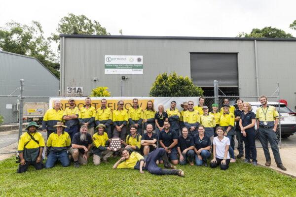 Wet Tropics Management Authority's yellow crazy ant eradication staff